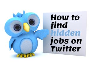 hidden jobs on twitter